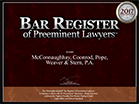 Bar Register Badge